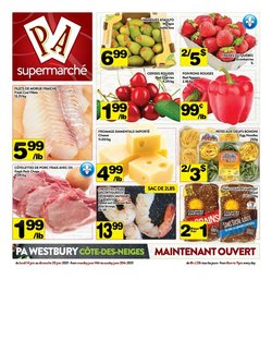Supermarché PA deals in the Supermarché PA catalogue ( 1 day ago)