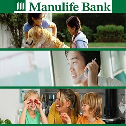 Banks offers in the Manulife Bank of Canada catalogue in Sudbury