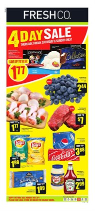 FreshCo deals in the Guelph flyer