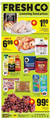 Grocery offers in the FreshCo catalogue in Hamilton ( Expires tomorrow )