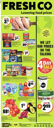 FreshCo catalogue ( 4 days left)
