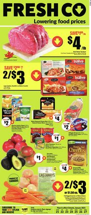 FreshCo catalogue ( 2 days left )