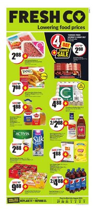 Grocery deals in the FreshCo catalogue ( Expires tomorrow)