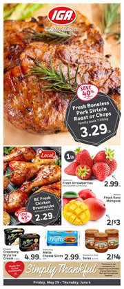 Grocery offers in the Market Place IGA catalogue in Chilliwack ( Expires tomorrow )