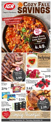 Market Place IGA catalogue ( Expires tomorrow )