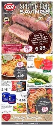 Market Place IGA catalogue ( Published today )
