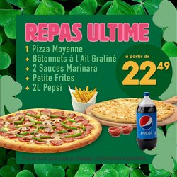 Double Pizza catalogue ( Expires today )