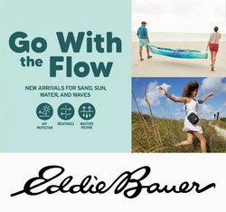 Clothing, Shoes & Accessories deals in the Eddie Bauer catalogue ( 2 days left)