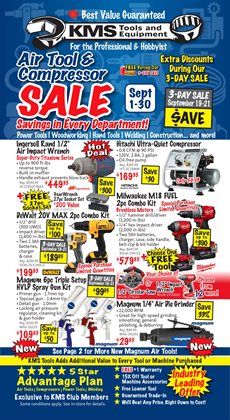 Garden & DIY offers in the KMS Tools catalogue in Spruce Grove