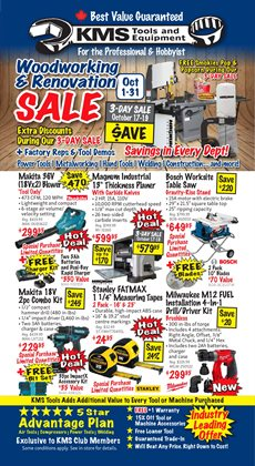Garden & DIY offers in the KMS Tools catalogue in Edmonton