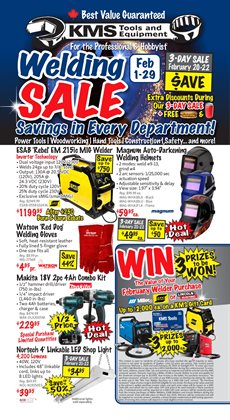 Garden & DIY offers in the KMS Tools catalogue in Calgary ( Expires today )