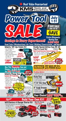 Garden & DIY offers in the KMS Tools catalogue in Vancouver ( 21 days left )