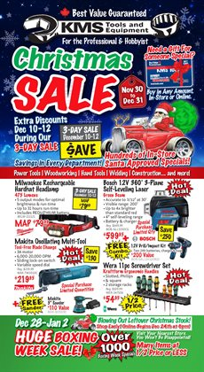 Garden & DIY offers in the KMS Tools catalogue in Victoria BC ( 2 days ago )