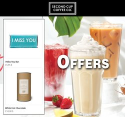 Restaurants deals in the Second Cup catalogue ( 22 days left)