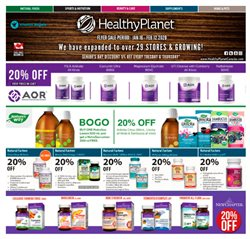 Healthy Planet deals in the Toronto flyer