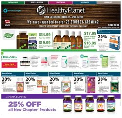 Healthy Planet catalogue ( 14 days left )