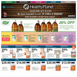 Healthy Planet catalogue ( 21 days left )
