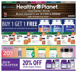 Healthy Planet catalogue ( 2 days left )