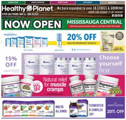 Pharmacy & Beauty deals in the Healthy Planet catalogue ( Expires today)