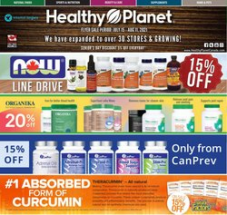 Pharmacy & Beauty deals in the Healthy Planet catalogue ( 6 days left)