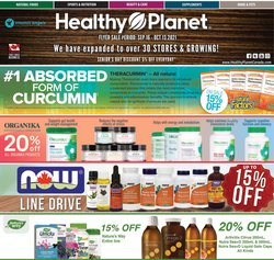 Healthy Planet deals in the Healthy Planet catalogue ( 24 days left)