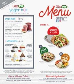 Restaurants deals in the Pita Pit catalogue ( 28 days left)