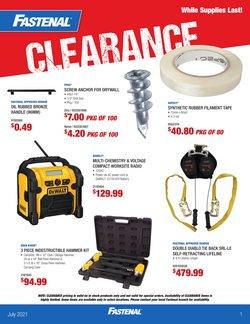 Garden & DIY deals in the Fastenal catalogue ( 1 day ago)