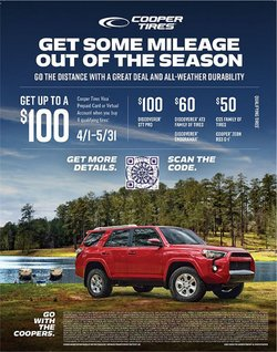 OK Tire deals in the OK Tire catalogue ( Expired)
