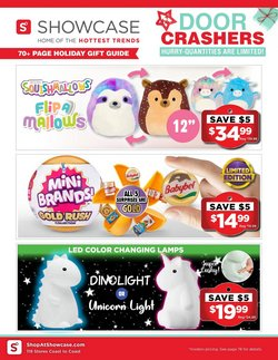 Sport deals in the Showcase catalogue ( Expires tomorrow)