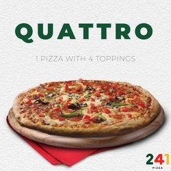 241 Pizza deals in the 241 Pizza catalogue ( Expired)
