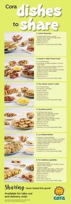 Restaurants deals in the Cora catalogue ( 7 days left)