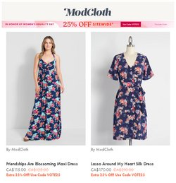 ModCloth deals in the ModCloth catalogue ( 2 days left)