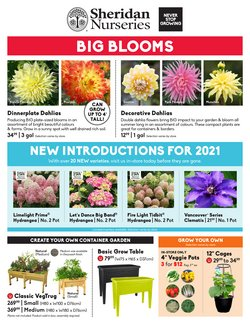 Garden & DIY deals in the Sheridan Nurseries catalogue ( Expires today)