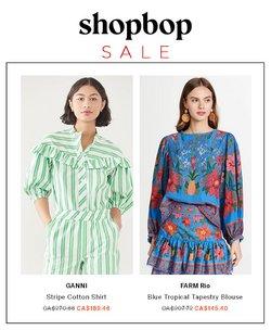Shopbop deals in the Shopbop catalogue ( 20 days left)