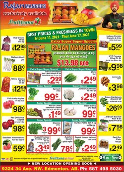 Grocery deals in the Fruiticana catalogue ( Expires tomorrow)