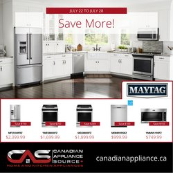 Electronics deals in the Canadian Appliance Source catalogue ( Published today)