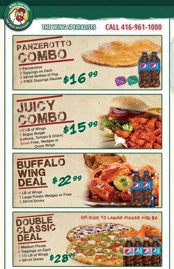 Restaurants deals in the Wing Machine catalogue ( 6 days left)