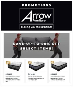 Arrow Furniture deals in the Arrow Furniture catalogue ( 1 day ago)