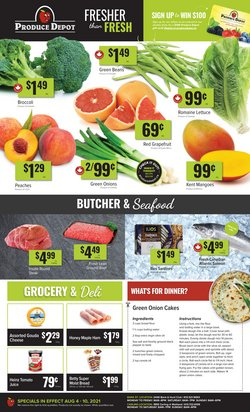 Grocery deals in the Produce Depot catalogue ( Published today)