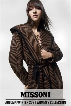 Missoni catalogue ( More than a month )