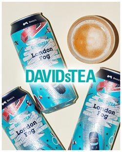 Davids Tea catalogue ( More than a month )