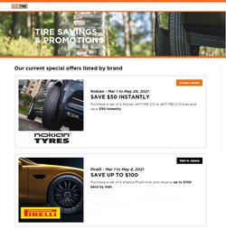 Kal Tire deals in the Kal Tire catalogue ( Expired)