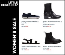 Champion deals in the Little Burgundy catalogue ( More than a month)