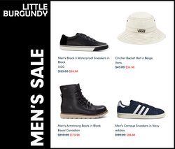 Adidas deals in the Little Burgundy catalogue ( 23 days left)