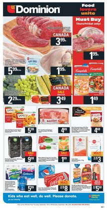 Dominion deals in the St. John's flyer