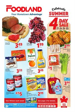 Foodland deals in the Toronto flyer
