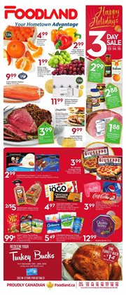 Foodland deals in the Cornwall flyer