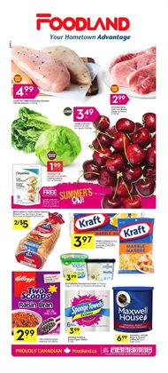 Foodland deals in the Hamilton flyer