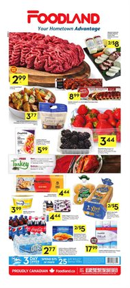 Foodland deals in the London flyer