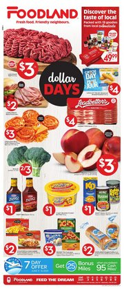 Foodland deals in the Foodland catalogue ( Expired)